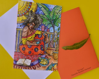 COMPLETE listing of greeting cards, bulk listing, art print cards