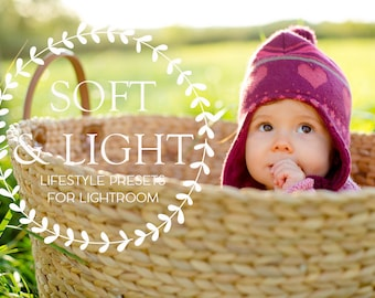 Lightroom presets Soft and Light