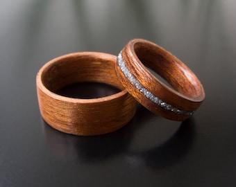 Wood engagement ring Etsy