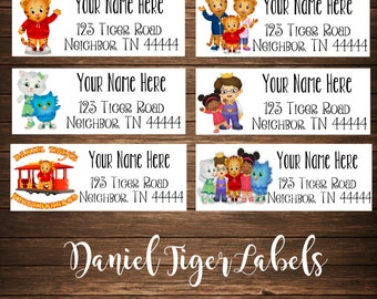 Bear Family Address Labels, Mailing Labels