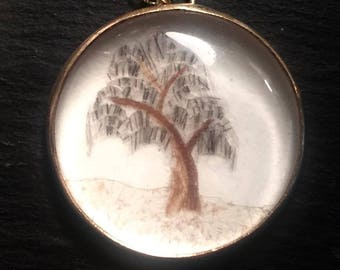 Palette Work Willow Pendant EXAMPLE ONLY