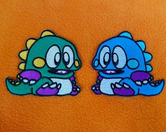 Bubble Bobble Sew-On Patches