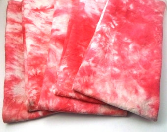 Flax seed heating pad - microwave neck wrap - Microwave heating pad - OOAK Mother's Day Gift - Pink Tie Dye Hemp-Organic cotton fabric