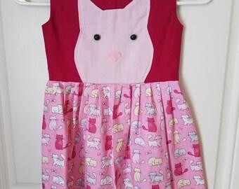 Size 5 Cat Dress