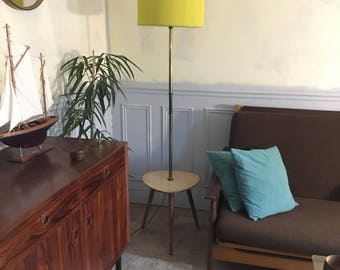 Floor lamp vintage tripod - Tablet - e vintage floor lamp - mid century floor lamp