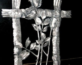 Handmade Metal Rose The Perfect Gift, Every Time. Steel Rose