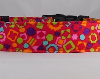 Dog Collar, Martingale Collar, Cat Collar - All Sizes - Garden Bloom