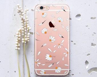 Samsung Galaxy S7 Edge Case iPhone 7 Case Daisy Phone Case Samsung Galaxy S6 Edge Case iPhone X Case iPhone 6s Case iPhone 8 Case WC1238