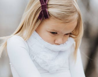 Kids Infinity Scarf - Luxe Scarf -  Multiple Colors - Valentines Day Scarf - Soft Scarf - Valentines Day Outfit - Warm Scarf - Kids