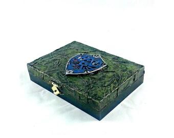 Legend of Zelda Hylian Shield Playing Card Box