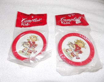 Capbell's Soup coasters Campbell's Kids 1993 unopened