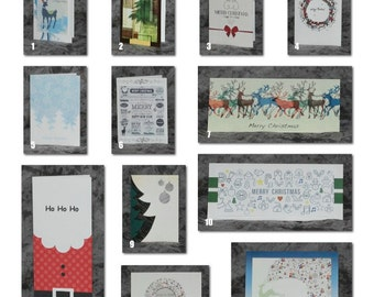 Christmas card 12 pack
