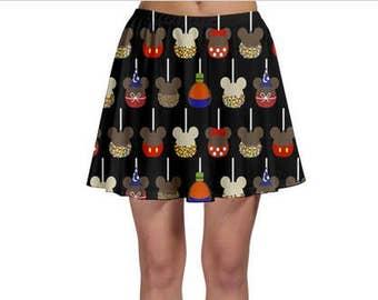 Made to Order (Ships in 4 weeks)  Caramel Apple Adult Skater Skirt