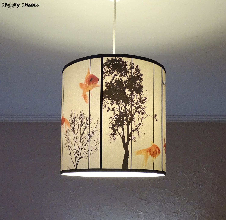 Fish carousel pendant lamp shade lampshade lighting zoom aloadofball Image collections