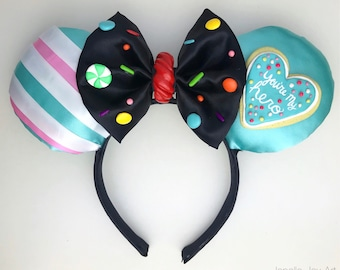 Vanellope Von Schweetz from Wreck-It Ralph Inspired Custom Mouse Ears