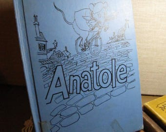 Vintage Children's Book - Anatole - Eve Titus - Illustrations by Paul Galdone