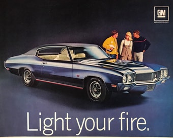 1970 Buick GS 455 Stage 1 - 360 hp- 510 foot/pounds of torque
