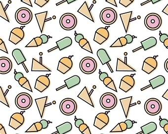 Ice cream, cupcakes, cake, popsicles, cake, wallpaper, scrapbooking, icons, dessert