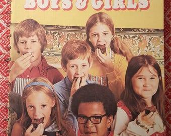 Vintage Betty Crocker's Cookbook for Boys and Girls 1978 Spiral bound Hardcover