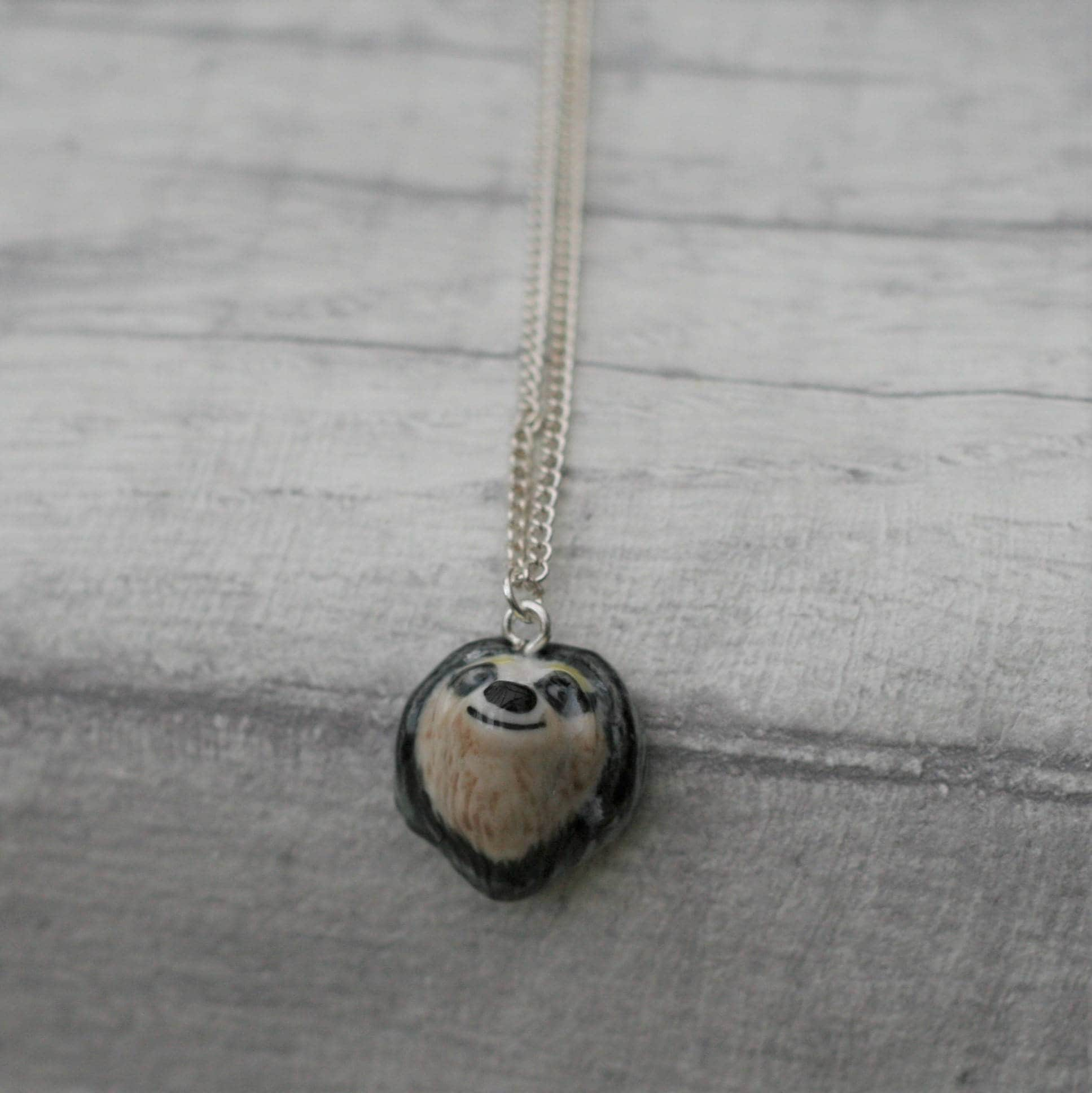 save pendant a capture silver sloth the minimalist necklace golden sloths pink co toco cc d product