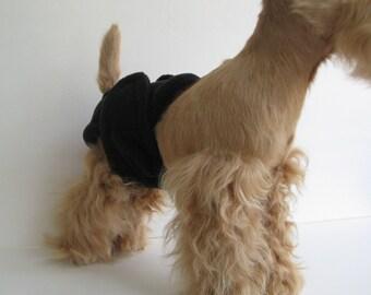 POOCHIE PANTZ black female dog diaper