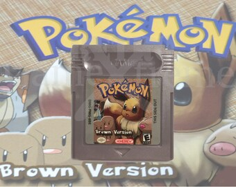 Pokemon Brown Version fan made hack GameBoy Color  GBC