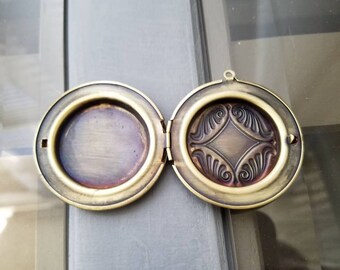 Two locket necklace settings