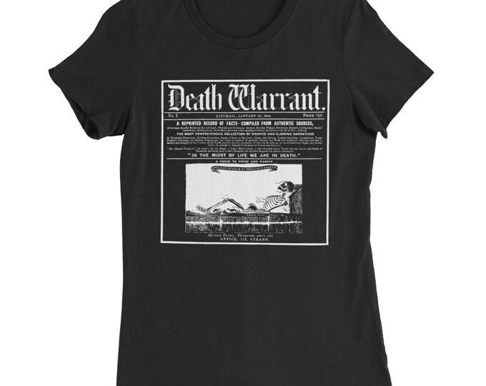 Death Warrant Slim Fit Tee
