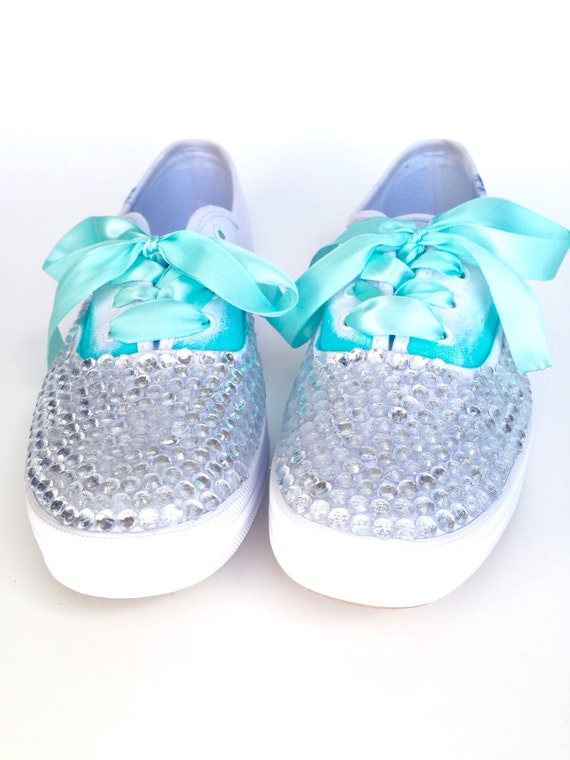 Blue Sparkly Sneakers – Fashion dresses 58ad89ad4