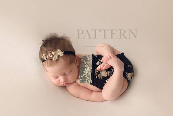 Baby Strampler Muster Neugeborene Spielanzug Schnittmuster