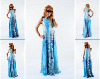 Long Dress, Tank Dress, Day Dress, Maxi Summer Dress, Infinity dress, Maxi Dress, Sleeveless kaftan, Beach dress, Plus Size Dress