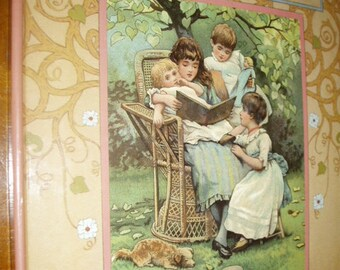 1985 Playtime Surprises ERNEST NISTER Revolving Changing Interactive Picture Book Victorian Repo