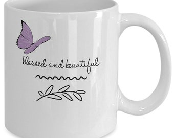 Blessed Butterfly Coffee Mug