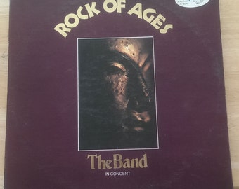 The Band - Rock Of Ages - SABB 11045 - 1972 - Original Issue - 145 / 135 gram - VG+