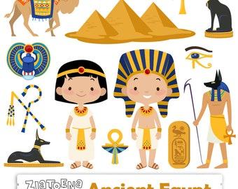 Egypt Clip art Ancient Egypt Clipart Travel clipart Egyptian clip art Pharaoh Pyramids clipart Camel Egypt graphics Scarab Beetle