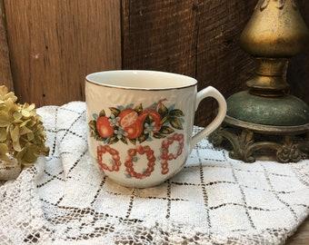 Vintage Florida Souvenir Mug/POP/Large/Oranges