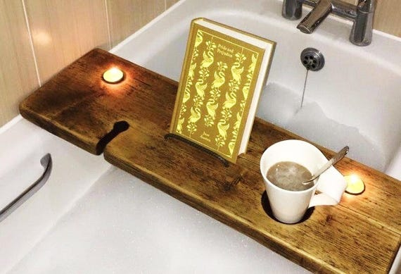 Tablet Holder Bath Book Holder Ipad Bath Tray Magazine