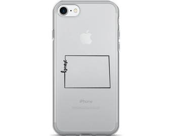 Colorado Home State - iPhone Case (iPhone 7/7 Plus, iPhone 8/8 Plus, iPhone X)