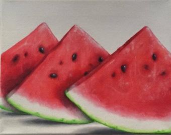 Watermelon- Oil on Canvas