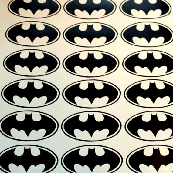 32 batman logo vinyl stickers batman symbol batman wall decal