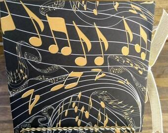 Music Notes Accordion Album