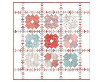 Tic Tac Toe By Sandy Gervais - Quilt Pattern