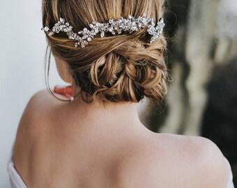 """Wedding Hair Accessories, Bridal Hair Vine, Bridal Hair Accessories, Bridal Headpiece ~ """"Addison"""" Wedding Hair Vine Comb"""