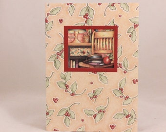 Among Friends Greeting Cards. One Card and Envelope. Teacher's Chair