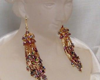 Celestial Carousel - Earrings Beading Pattern
