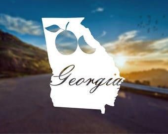 Georgia State Decal