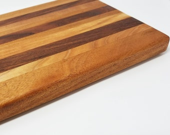 "13x18"" Wood Cutting Board - Maple, Jabota, Cherry, Cheese Board, Charcuterie Board, Rustic, Farmhouse, Handmade, Decorative, Natural, Grain"