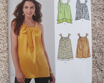 UNCUT Simplicity New Look Pattern 0945 Size XSmall, Small, Medium, Large, XLarge Misses Blouse