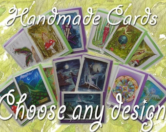 Handmade Cards - Choose Any Design