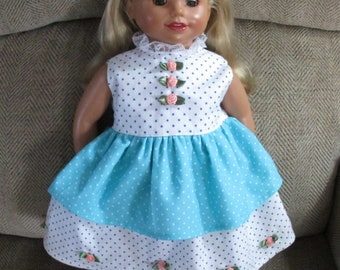 American Girl Two Tiered Sleeveless Dress